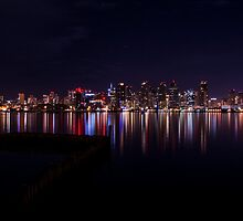 San Diego Skyline by liminalstate