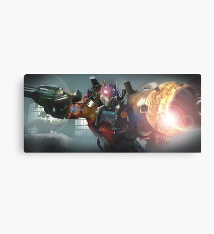Transformers, Optimus Prime Canvas Print