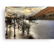 Loch Tay Winter Canvas Print