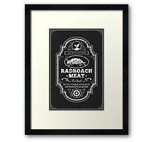 Drumlin Diner Radroach Meat Framed Print