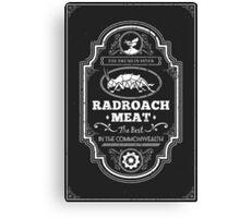 Drumlin Diner Radroach Meat Canvas Print