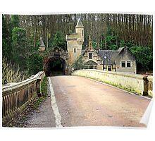 Mauldslie Bridge and Gatehouse Poster