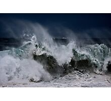 Winter Waves At Pipeline 10 Photographic Print