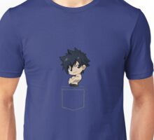Gray Fairy Tail Pocket Unisex T-Shirt