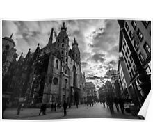 St. Stephen's Cathedral in Vienna Poster