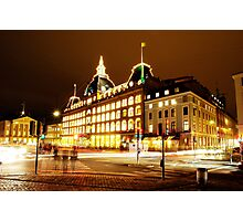 Magasin du Nord in Copenhagen Photographic Print
