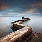 St Monans Pier by Grant Glendinning