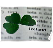 ♥ book series: Ireland  Poster