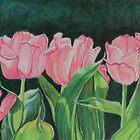 Pink Tulips by Charlotte Yealey