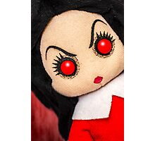 Evil Rag Doll Photographic Print