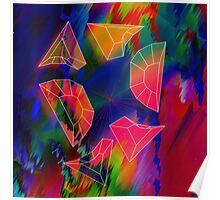 Prism Glitch Explosion Poster