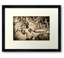 Che Guevara Tattoo Framed Print