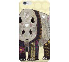 chocolate panda straw iPhone Case/Skin