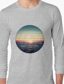 Percy Jackson Prophecy Sunset Long Sleeve T-Shirt