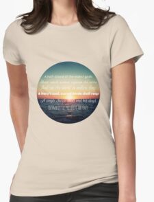 Percy Jackson Prophecy Sunset Womens Fitted T-Shirt