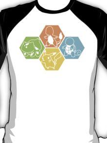 Gen 1 Starters Hexagon T-Shirt