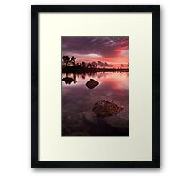 Calm in the Glades Framed Print