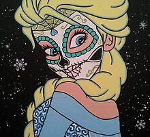 Sugar Skull Elsa  by KittyOG1