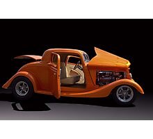 1934 Ford Coupe Hot Rod Photographic Print