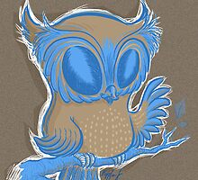 just an owl by Kopfzirkus