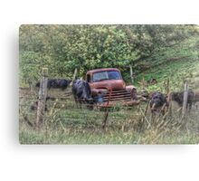 Taking the Shortcut Canvas Print