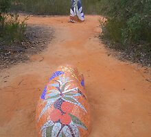 Sculpture in the Pilliga Scrub by myraj