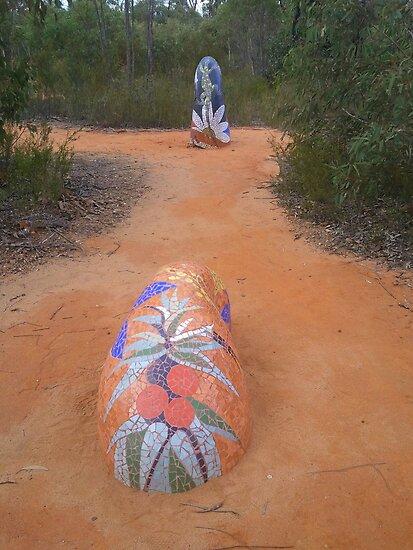 Sculpture in the Pilliga Scrub by myraj