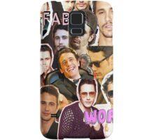 James Franco the collage Samsung Galaxy Case/Skin