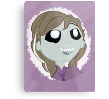 Completely Ordinary Zombie Princess (No Text) Metal Print