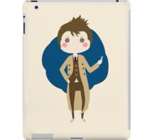 10th Doctor chibi iPad Case/Skin