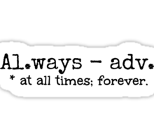 Al.ways Sticker