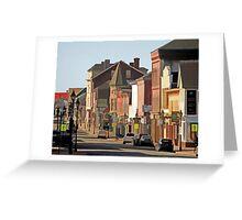 Yarmouth Main Street in the Sunshine Greeting Card