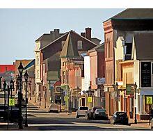Yarmouth Main Street in the Sunshine Photographic Print