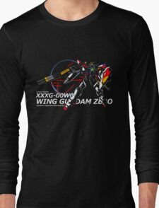 Wing Zero: Z.E.R.O. System Long Sleeve T-Shirt