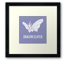 Dragon Slayer Framed Print
