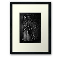 Gothic Sisters Framed Print
