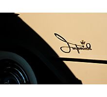 5057_Imperial Logo with Crown and White Walls Photographic Print