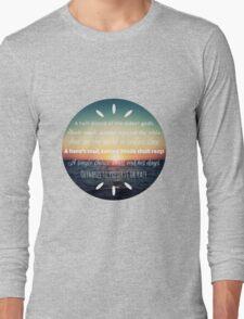 Percy Jackson Prophecy Sunset 2 Long Sleeve T-Shirt