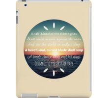 Percy Jackson Prophecy Sunset 2 iPad Case/Skin