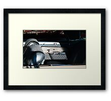 5062_Imperial Back Seat Framed Print