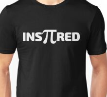 Insπred [Inspired] White Ink Unisex T-Shirt