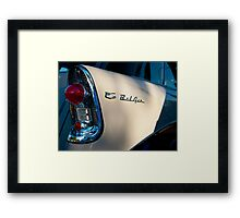 5080_Bel Air Wagon Tail Light Detail Framed Print