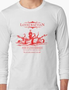 Lovecraftian - R'lyeh Whiskey Red Label Long Sleeve T-Shirt