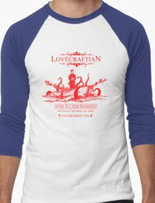 Lovecraftian - R'lyeh Whiskey Red Label Men's Baseball ¾ T-Shirt