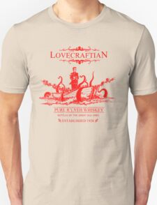 Lovecraftian - R'lyeh Whiskey Red Label T-Shirt
