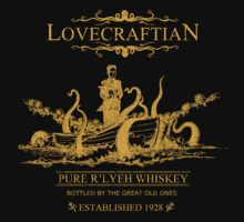 Lovecraftian - R'lyeh Whiskey Gold Label One Piece - Short Sleeve