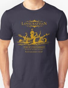Lovecraftian - R'lyeh Whiskey Gold Label Unisex T-Shirt