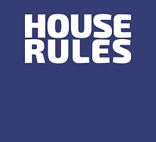 House Rules [Beer Pong Shirt] White Ink T-Shirt
