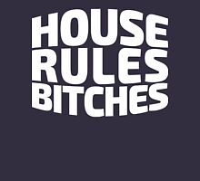 House Rules Bitches [Beer Pong Shirt] White Ink Hoodie