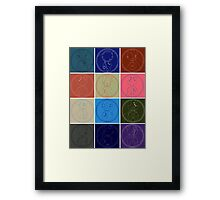 The Names of The Doctor Framed Print
